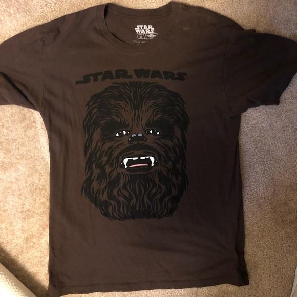Star Wars Shirts Chewbacca Tshirt Size Medium Poshmark